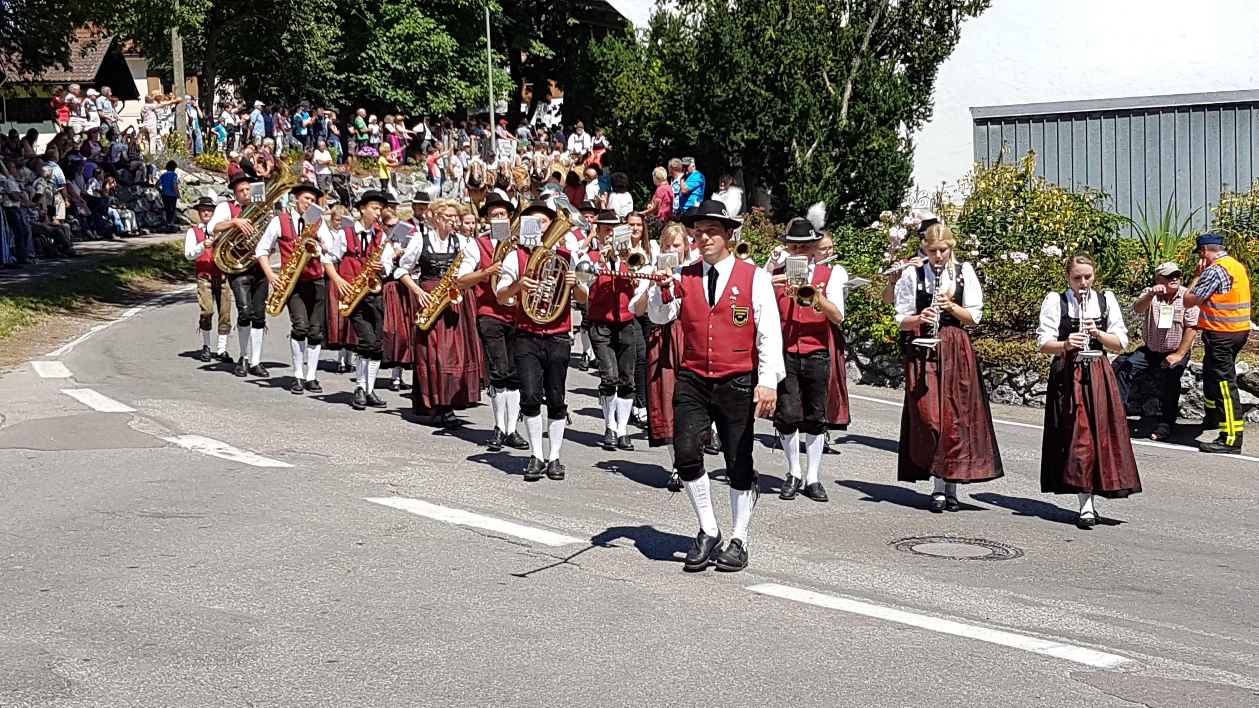 Probstried 2017 – Teilnahme am Marschmusikwettbewerb