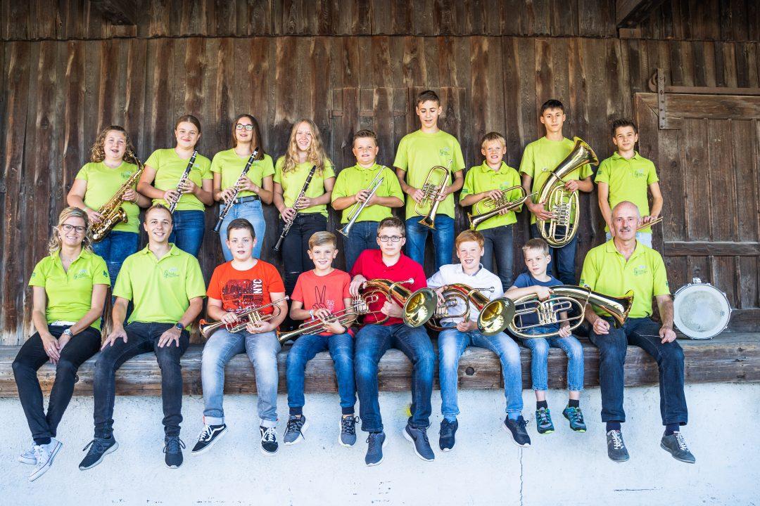 Jungmusiker Musikverein Harmonie Frechenrieden