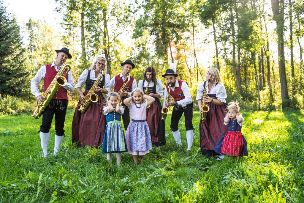 Saxophonregister Musikverein Harmonie Frechenrieden