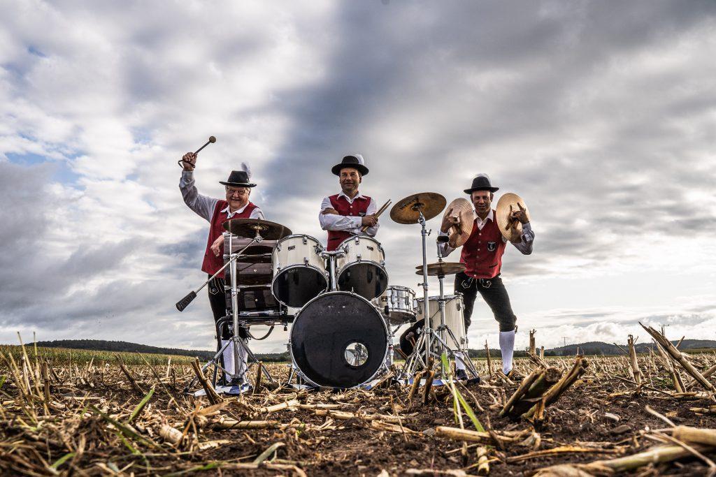 Schlagzeugregister Musikverein Harmonie Frechenrieden