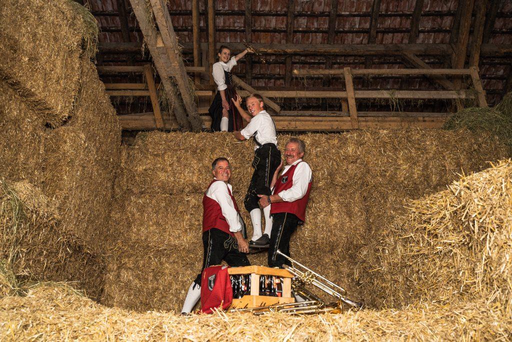Trompetenregister Musikverein Harmonie Frechenrieden