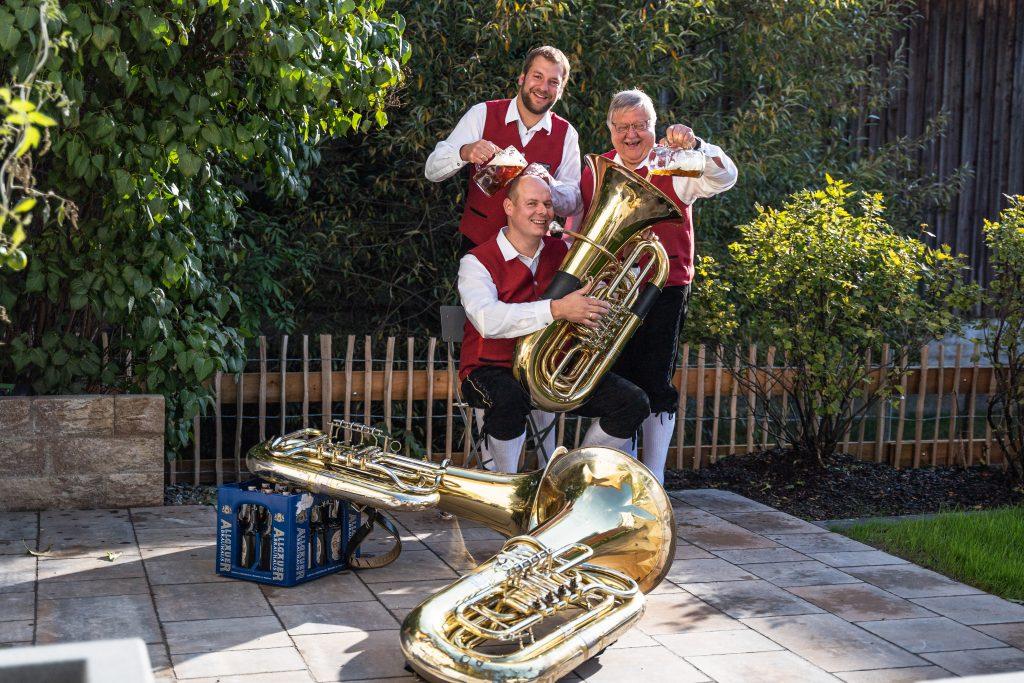 Bassregister Musikverein Harmonie Frechenrieden