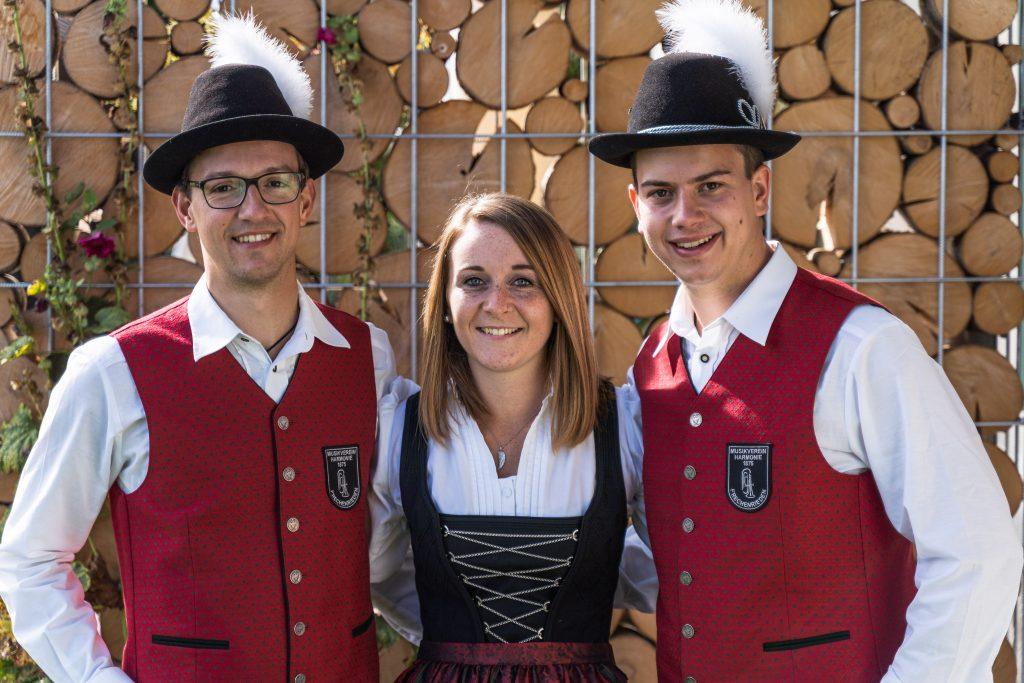 Vorstände Musikverein Harmonie Frechenrieden