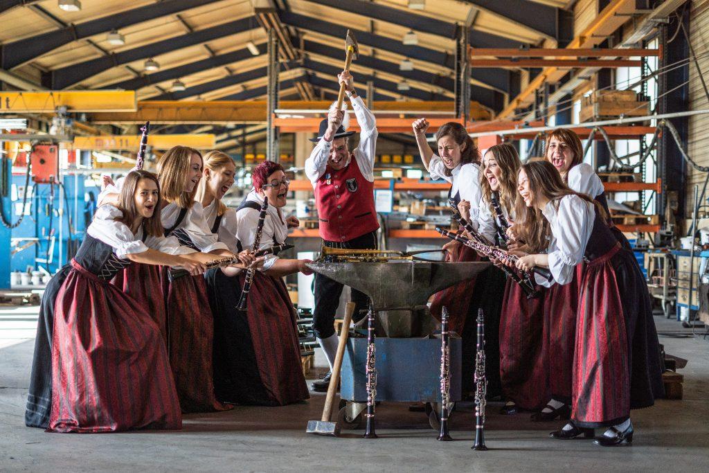Klarinettenregister Musikverein Harmonie Frechenrieden