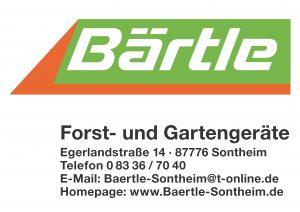 Baertele Sponsor BMF Frechenrieden