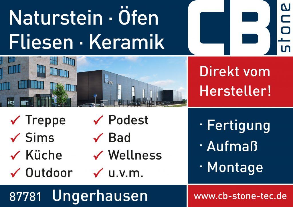 CB-stone-tec Sponsor BMF Frechenrieden