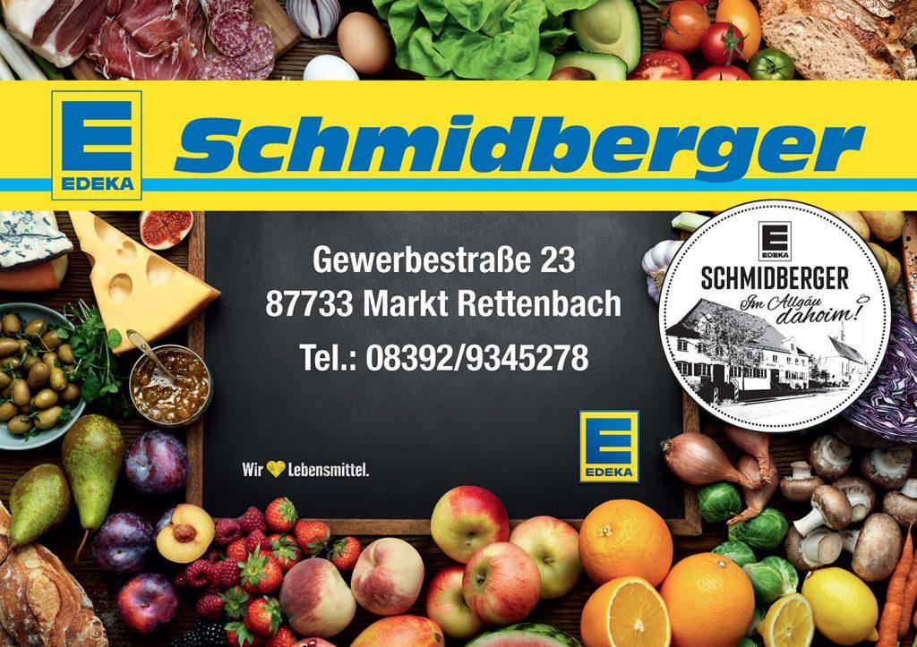 Edeka Schmidberger Sponsor BMF Frechenrieden