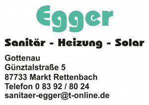 Egger Sanitaer Sponsor BMF Frechenrieden