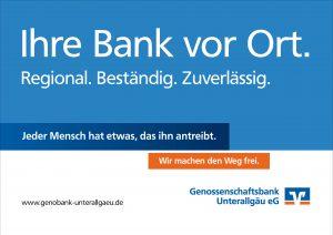 Genossenschaftsbank Unterallgaeu Genobank Sponsor BMF Frechenrieden