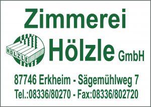 Zimmerei Hoelzle Sponsor BMF Frechenrieden