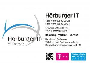 Hoerburger Sponsor BMF Frechenrieden