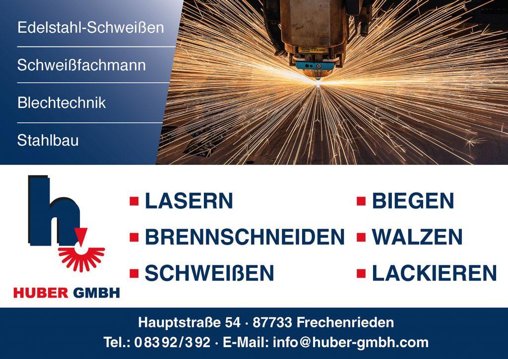 Huber Stahlbau Sponsor BMF Frechenrieden