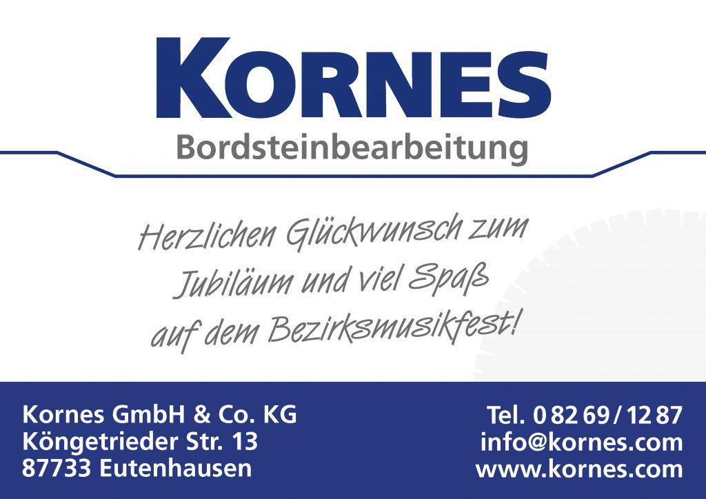 Kornes Sponsor BMF Frechenrieden