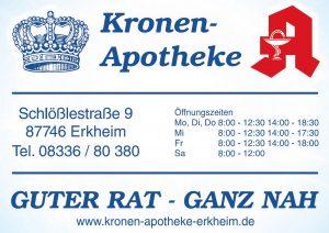 Kronen Apotheke Sponsor BMF Frechenrieden