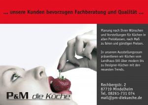 PM Kueche Sponsor BMF Frechenrieden