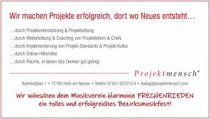 Projektmensch Sponsor BMF Frechenrieden
