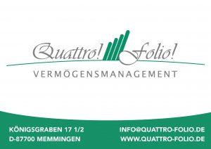 Quattro Folio Sponsor BMF Frechenrieden