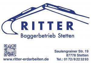 Ritter Baggerbetrieb Sponsor BMF Frechenrieden