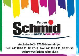 Schmid Farben Sponsor BMF Frechenrieden