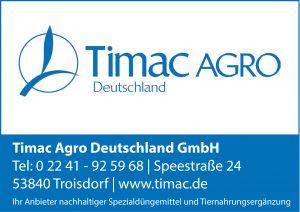 Timac Agro Deutschland Sponsor BMF Frechenrieden