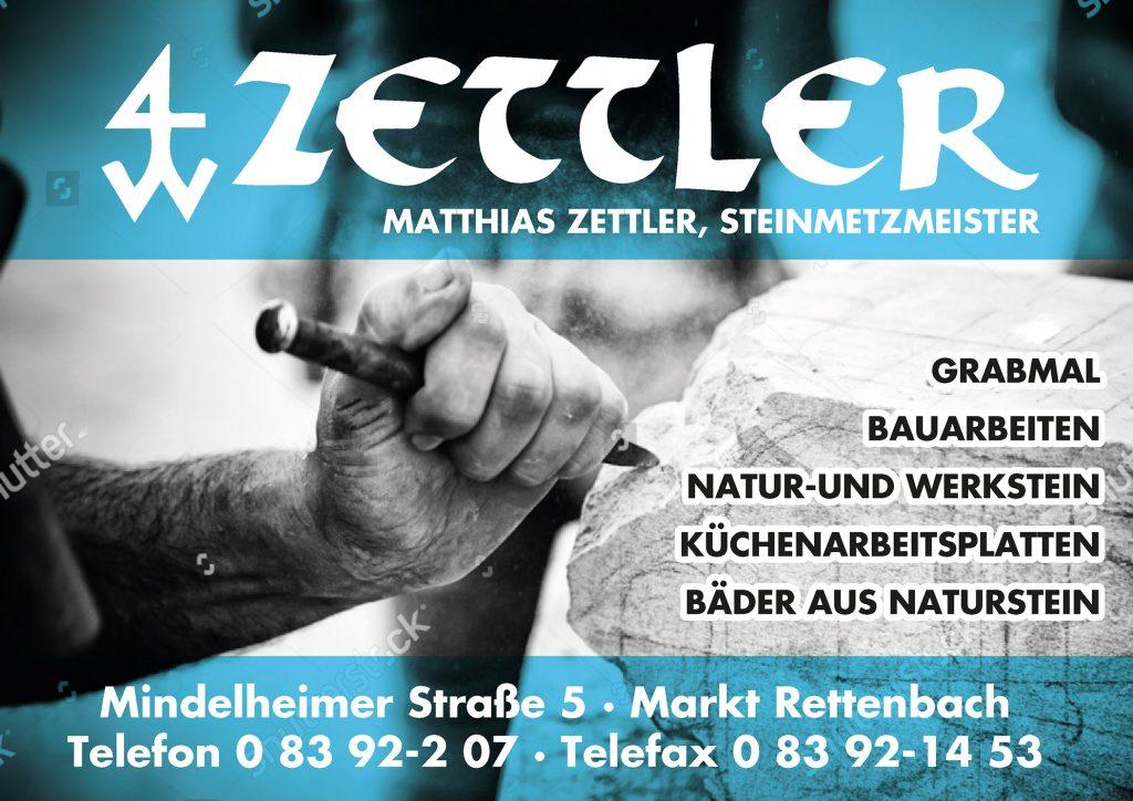 Zettler Steinmetz Sponsor BMF Frechenrieden