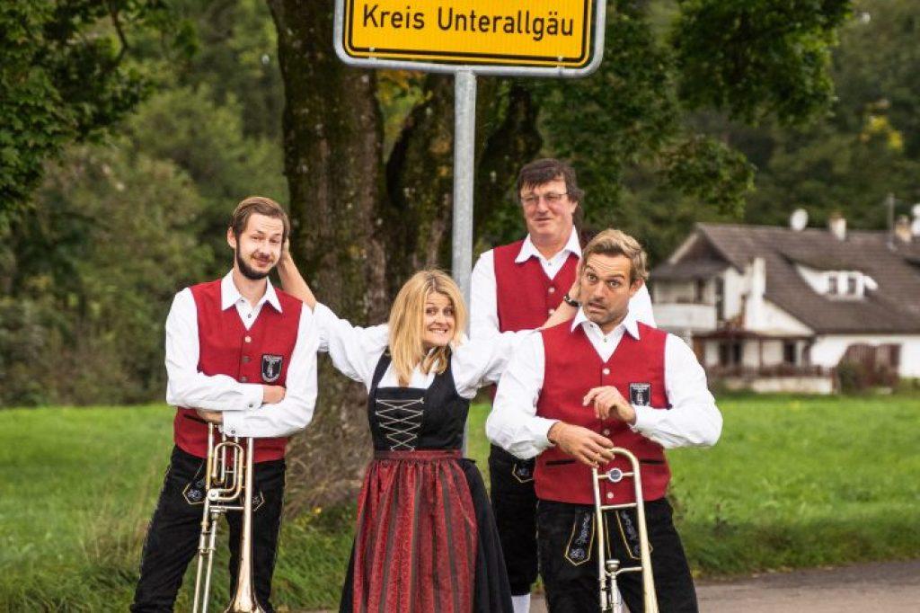 Posaunenregister Musikverein Harmonie Frechenrieden
